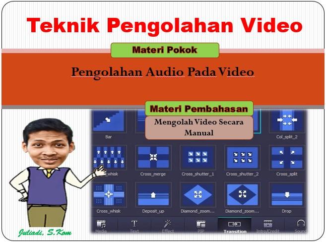 Pengolahan Audio Pada Video Dengan Adobe Premiere Secara Manual