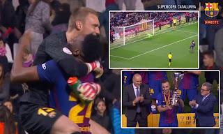Barcelona vs Espanyol 0-0 (4-2) - Highlights & Penalty Shootout