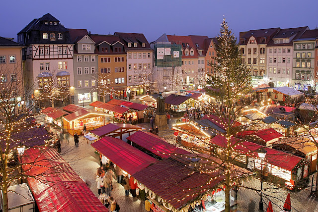 christmas, snow, shopping, christmas markets