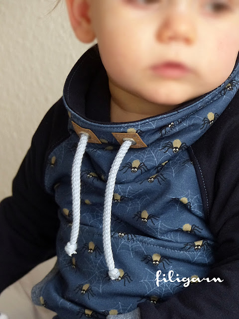 filigarn.blogspot.com | genähtes | Raglansweater Max & Maxi