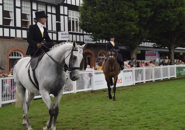 Dublin Horse Show side-saddle horses Dublin riding women sport