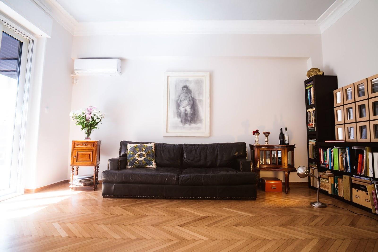 Oak Floors Living Room Design