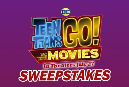 Dippin' Dots Teen Titans Go! Sweepstakes