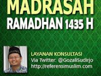 Madrasah Ramadhan 1435 H  |  Layanan Konsultasi