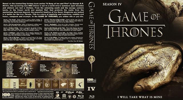 Capa Bluray Game Of Thrones Quarta Temporada Completa