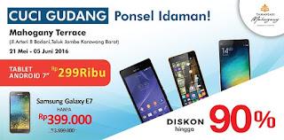 Samsung Galaxy E7 Rp 399.000 (Erafone Cuci Gudang tgl 21 bulan 5 hingga tgl 5 bulan 6)