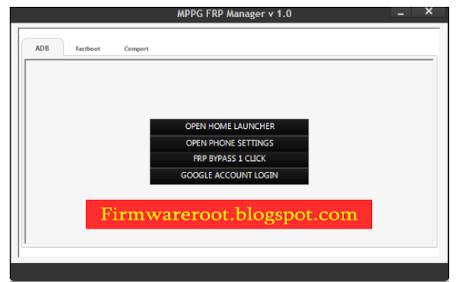Samsung FRP Manager Tool V1.0 All Frp Unlock 2017 Free Download