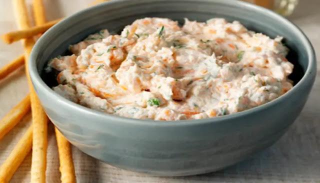 Dip o salsa de salmón ahumado