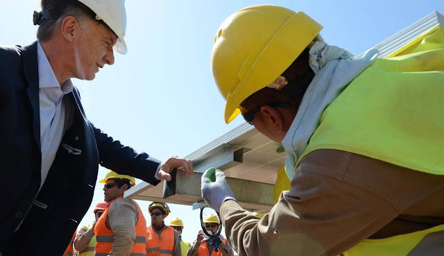 Macri destacó que la Argentina se posiciona como un país líder en el desarrollo de energías renovables