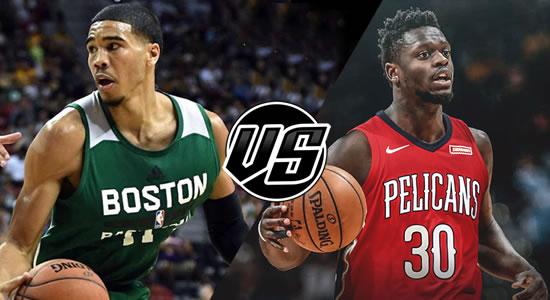 Live Streaming List: Boston Celtics vs New Orleans Pelicans 2018-2019 NBA Season