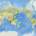 En menos de 4 días se han registrado 5 terremotos , de magnitud +6.