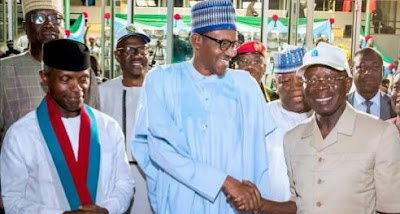 Buhari, Oshiomhole Upsetting R-APC Defection Plan?