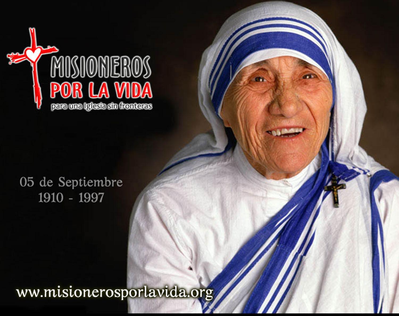 Misioneros Por La Vida Santa Teresa De Calcuta
