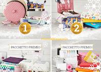 Logo Gioco e premi dell'Avvento: vinci gratis macchine per cucire e tessuti