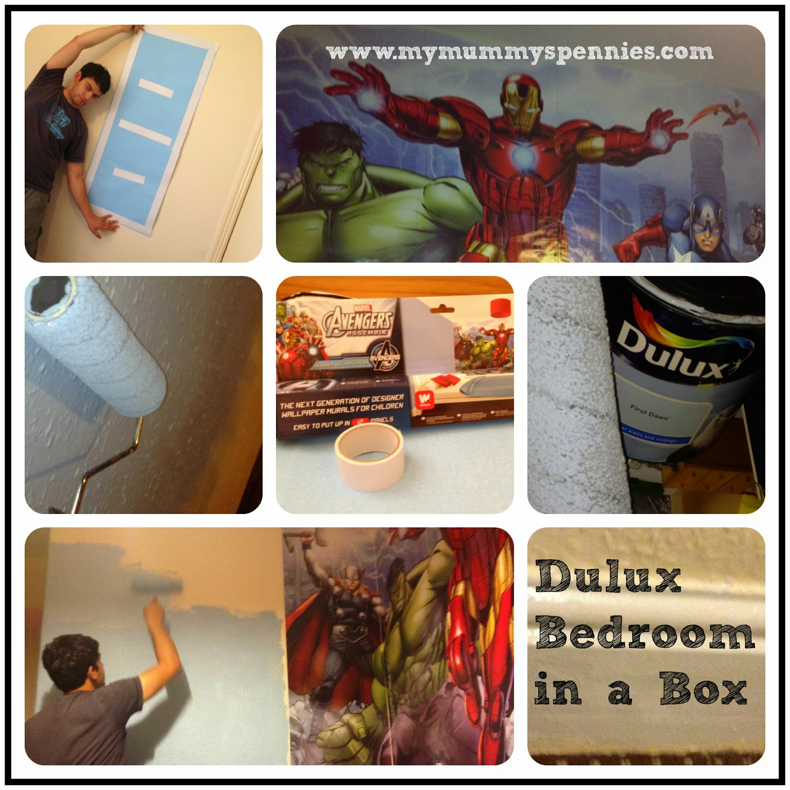 Dulux Kids Bedroom In A Box: My Mummy's Pennies: Dulux Bedroom In A Box