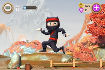 Clumsy Ninja v1.25.0 Mod Apk (Unlimited Coins/Gems)