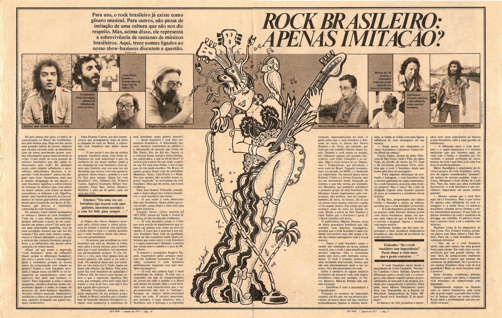 O que aconteceu com a proposta textual do rock brasileiro  Impossível  diagnosticar apenas um sintoma desta patologia incubada 0b72031d34e