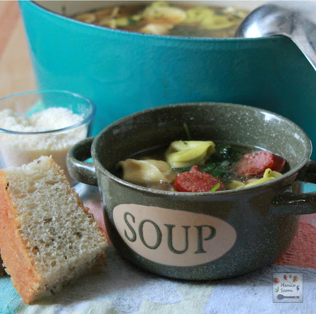 In 30 minutes you can serve your family a hearty and delicious soup! Easy-peasy yumminess in a bowl!
