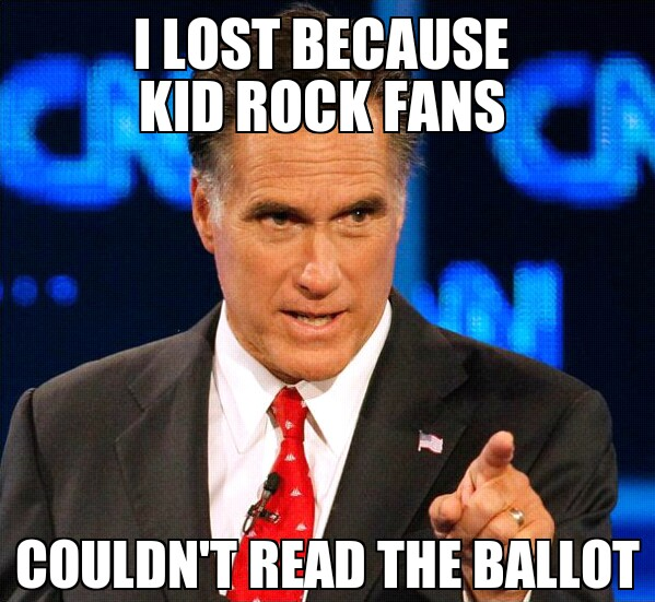 Farce The Music Why Mitt Romney Lost Meme