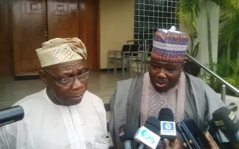 ali modu sheriff begs obasanjo to return to pdp
