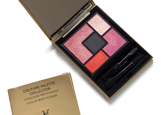 Yves Saint Laurent YSL The Street And I Couture Palette Collector Review Photos Swatches