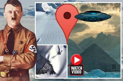 Τεράστιο Χ Εμφανίστηκε στην Ανταρκτική. Το Κρυμμένο Μυστικό της Έρχεται στο Φως (video)