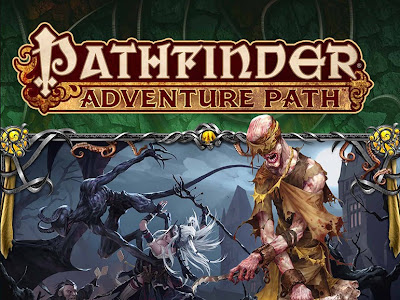 Linea argumental de la senda de aventuras de Strange Aeons (Pathfinder)