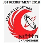 NITTTR JBT Recruitment 2018