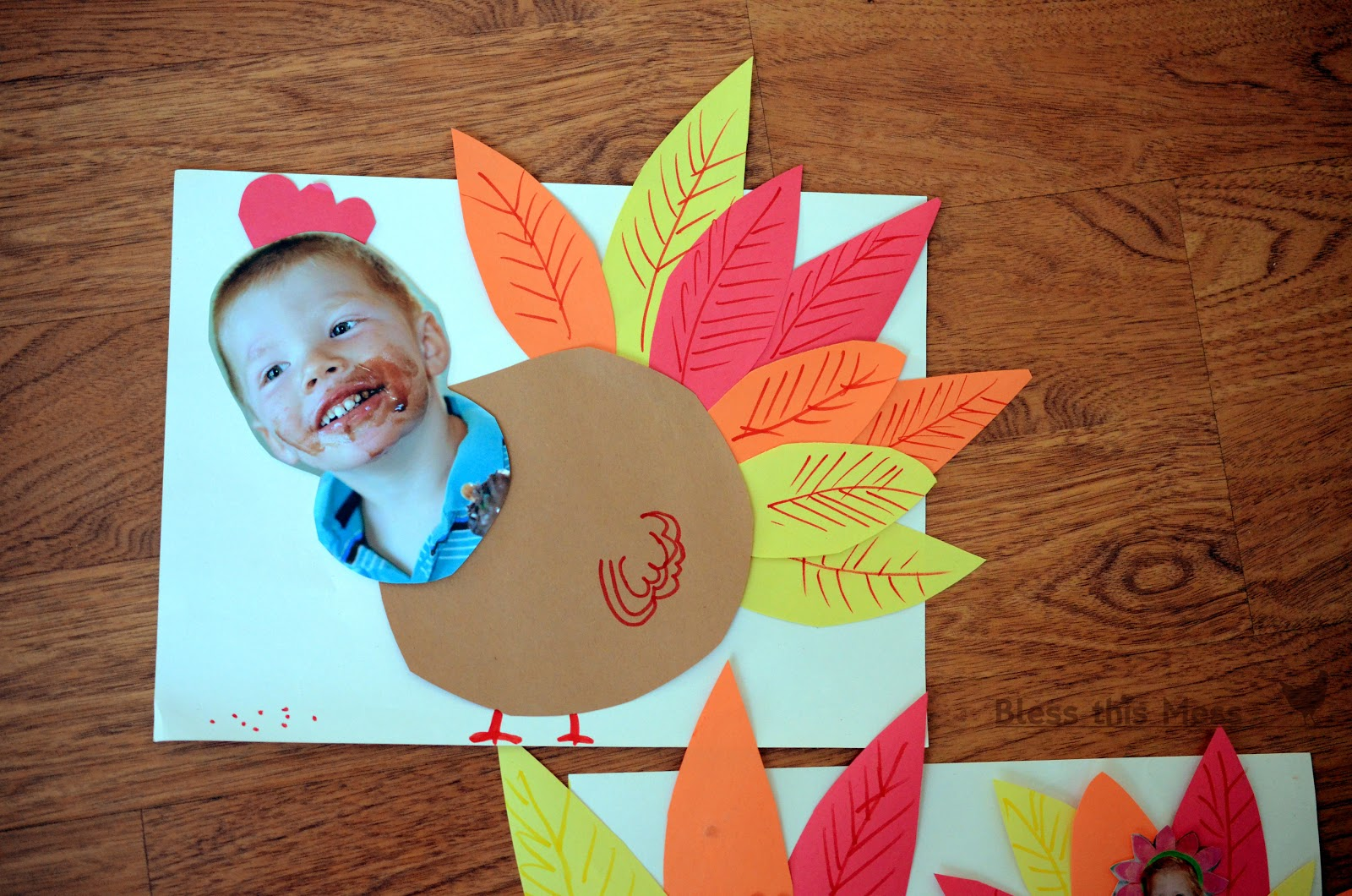 Thanksgiving+turkey+craft+for+kids+preschool+with+pictures+of+kids - Thanksgiving Video For Kindergarten