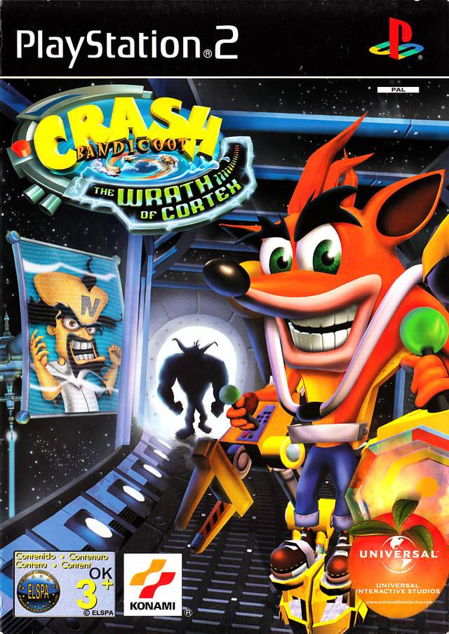 Crash Bandicoot The Wrath of Cortex (v2.01) PAL PS2