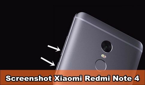 Cara Screenshot Layar Xiaomi Redmi Note 4