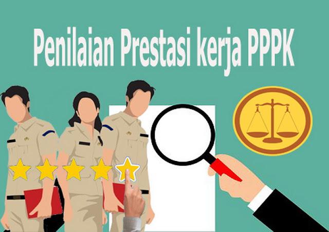 Prestasi kerja PPPK