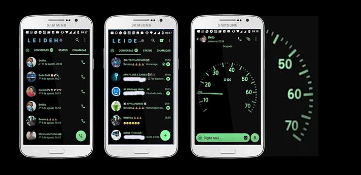 FBaixar Temas GBWhatsapp - Speedometer