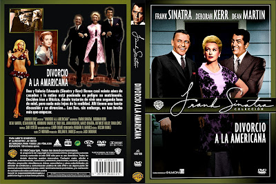 Carátula dvd: Divorcio a la americana / Marriage on the Rocks / Descargar / Película