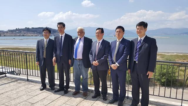 Κινεζική Αντιπροσωπεία στην Περιφερειακή Ενότητα Αργολίδας