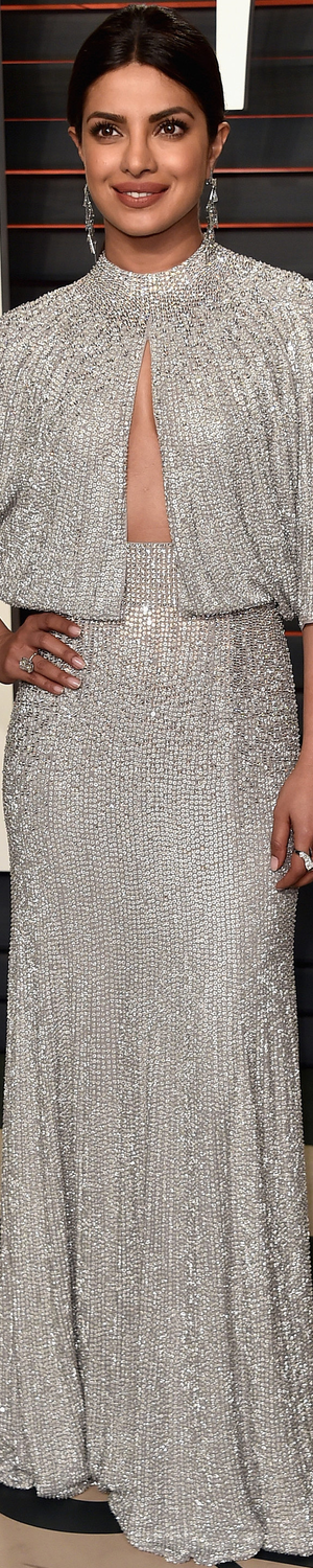 Priyanka Chopra 2016 Vanity Fair Oscar Party