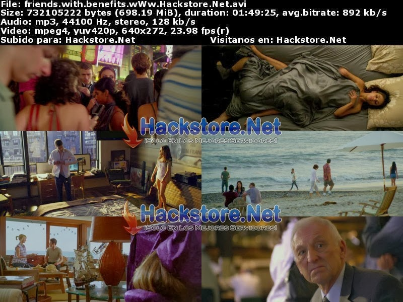 Captura Amigos Con Beneficios (2011) Dvdrip Latino