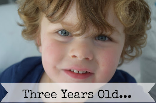 And Then You Were 3 (and a half)...An Eliot Update