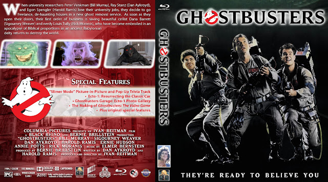 Ghost Busters (1984) Bluray Bluray Cover