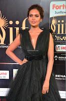 Esha Gupta in a Deep Neck Sleeveless Dark Green Gown at IIFA Utsavam Awards 2017     46.JPG