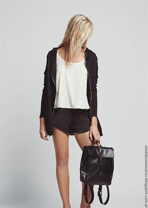 Moda verano 2017 ropa de mujer moda. Moda shorts verano 2017.