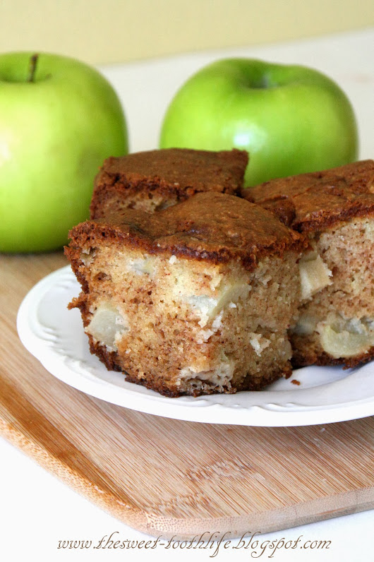 Spiced Apple Cheesecake Coffee Cake
