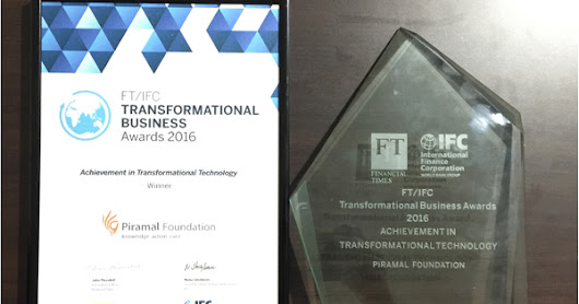 Sarvajal wins the FT/IFC Transformational Business Award