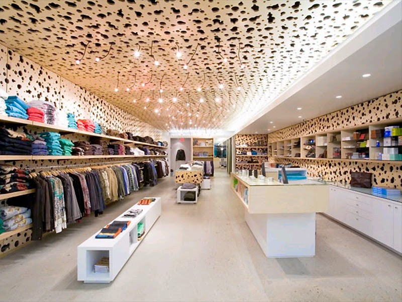 Creativity clothing store