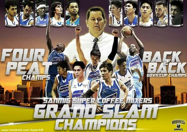 BREAKING: San Mig Coffee clinches 'rare' Grand Slam feat