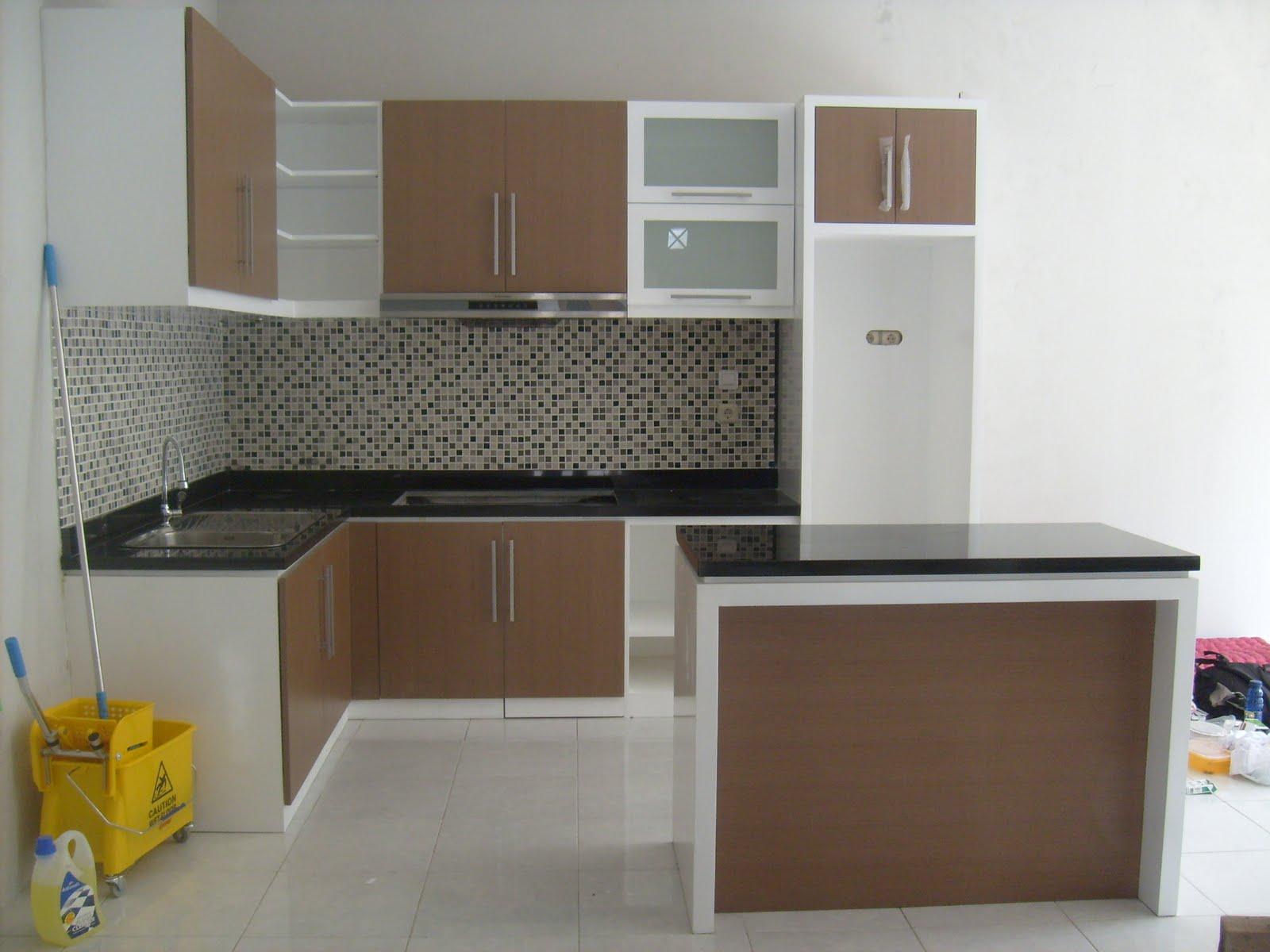 Kitchen set rumah type 36