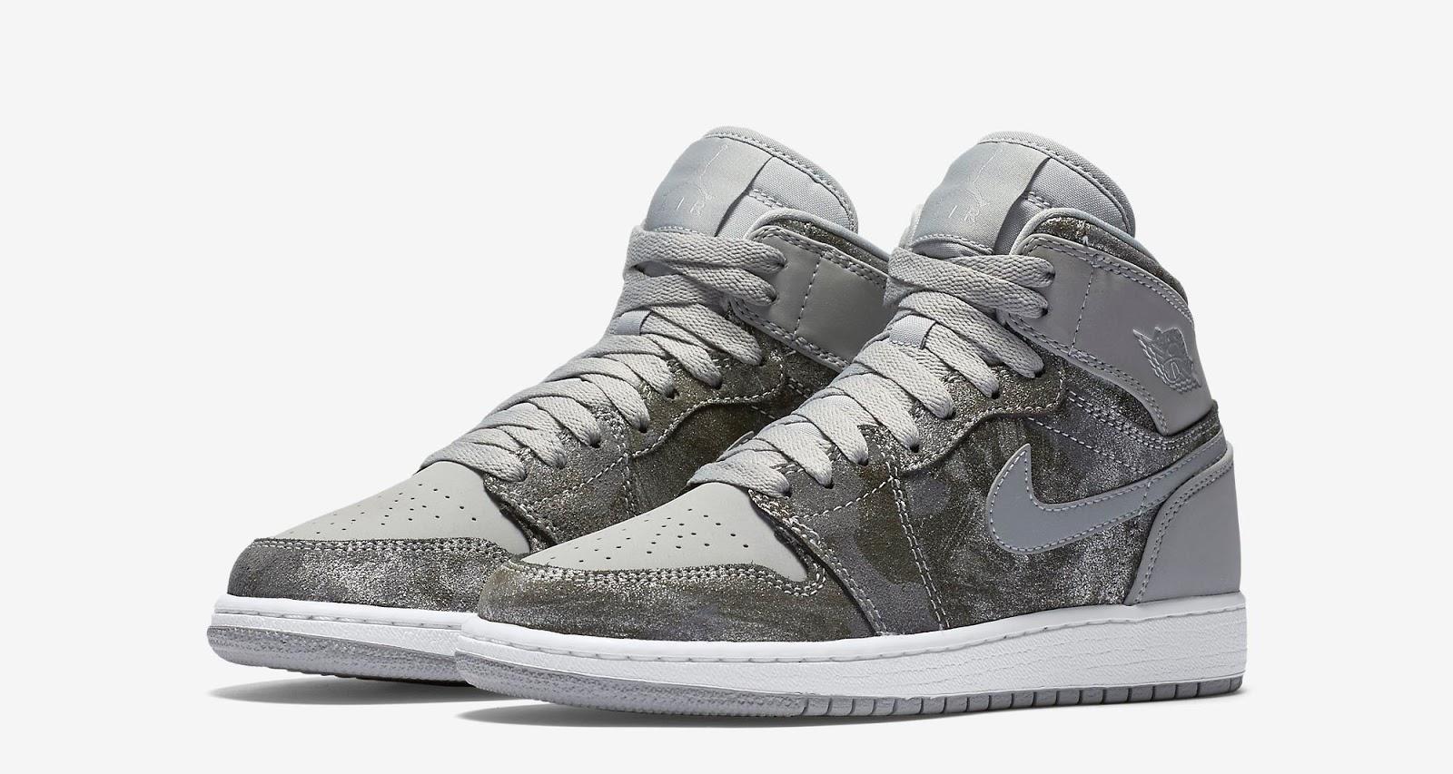 Nike Air Jordan 1 I High Buy Silaver