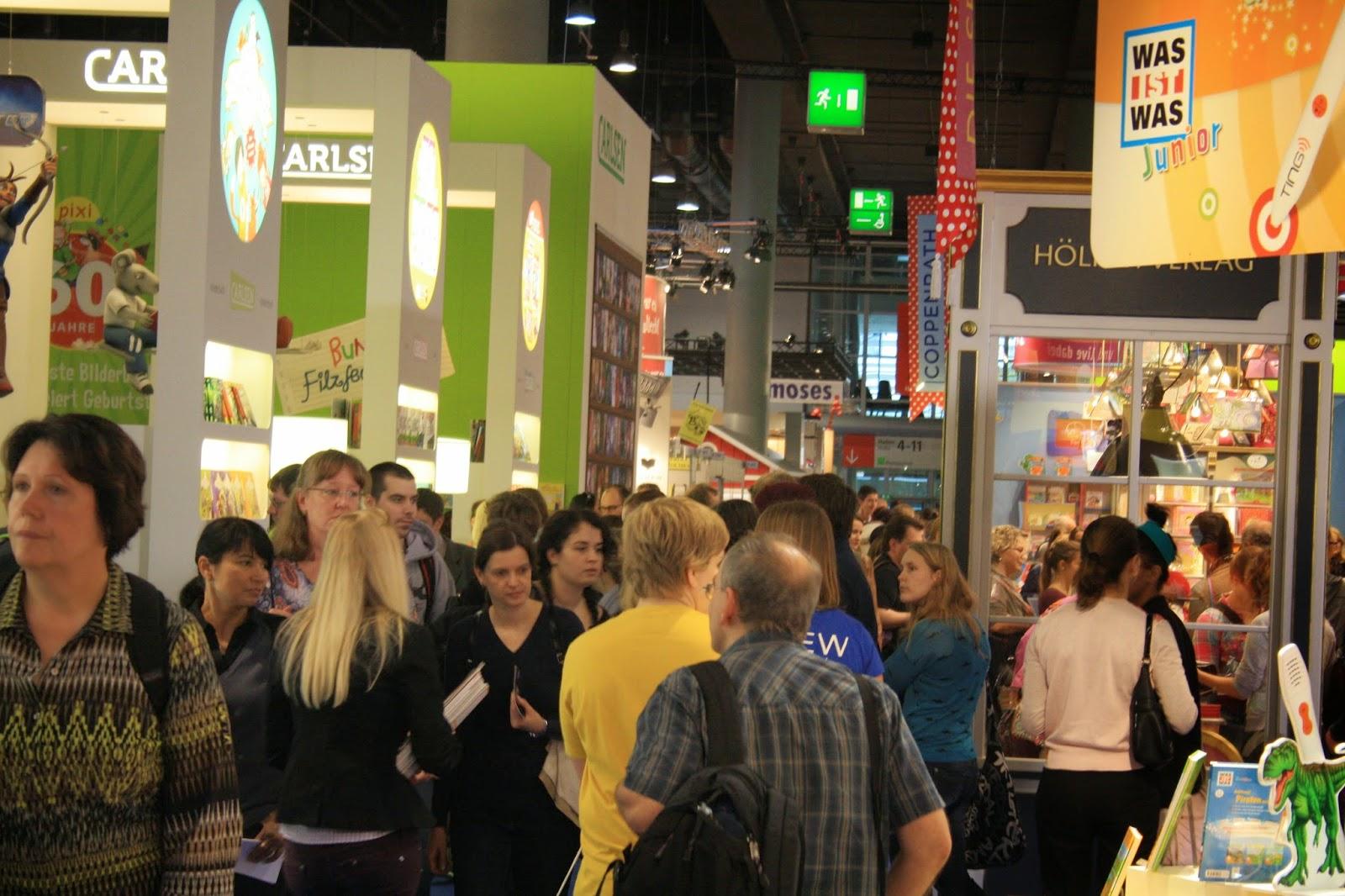 Der Carlsen Verlagsstand auf der Frankfurter Buchmesse 2014