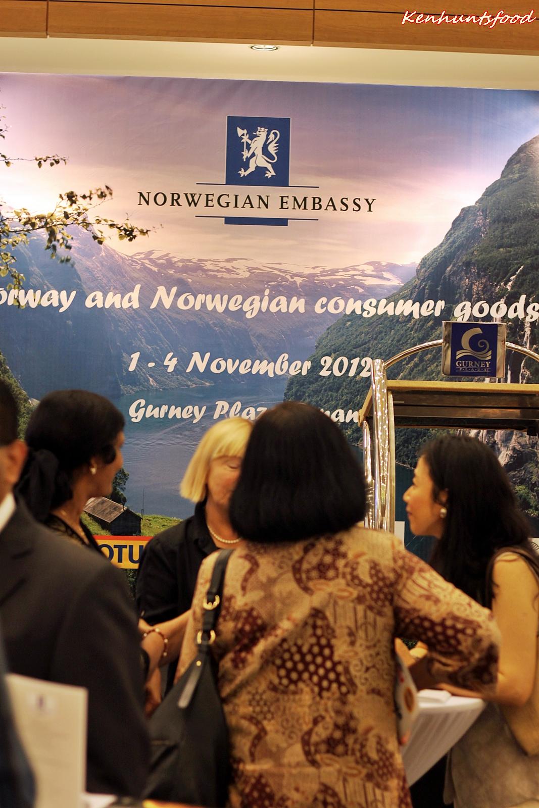 D Exhibition Penang : Ken hunts food: norway and norwegian consumer goods exhibition