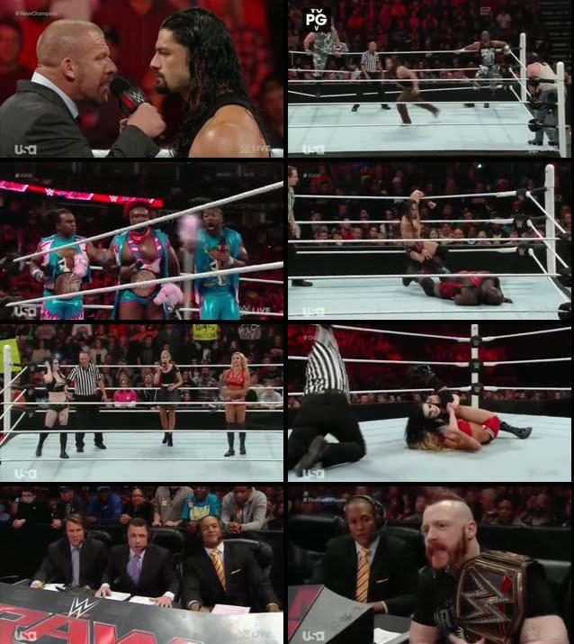 WWE Monday Night Raw 23 Nov 2015 HDTV 480p